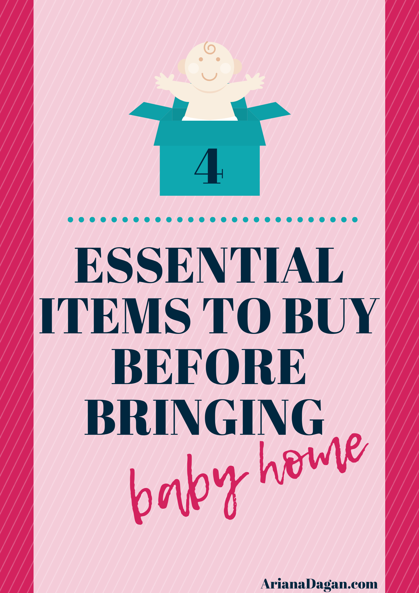 Mama's Corner | 4 Essential Items to Buy Before Bringing Baby Home