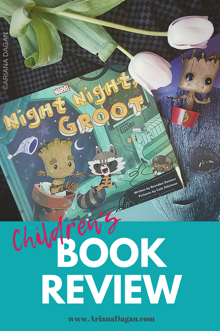 Children's Book Review of Night Night, Groot