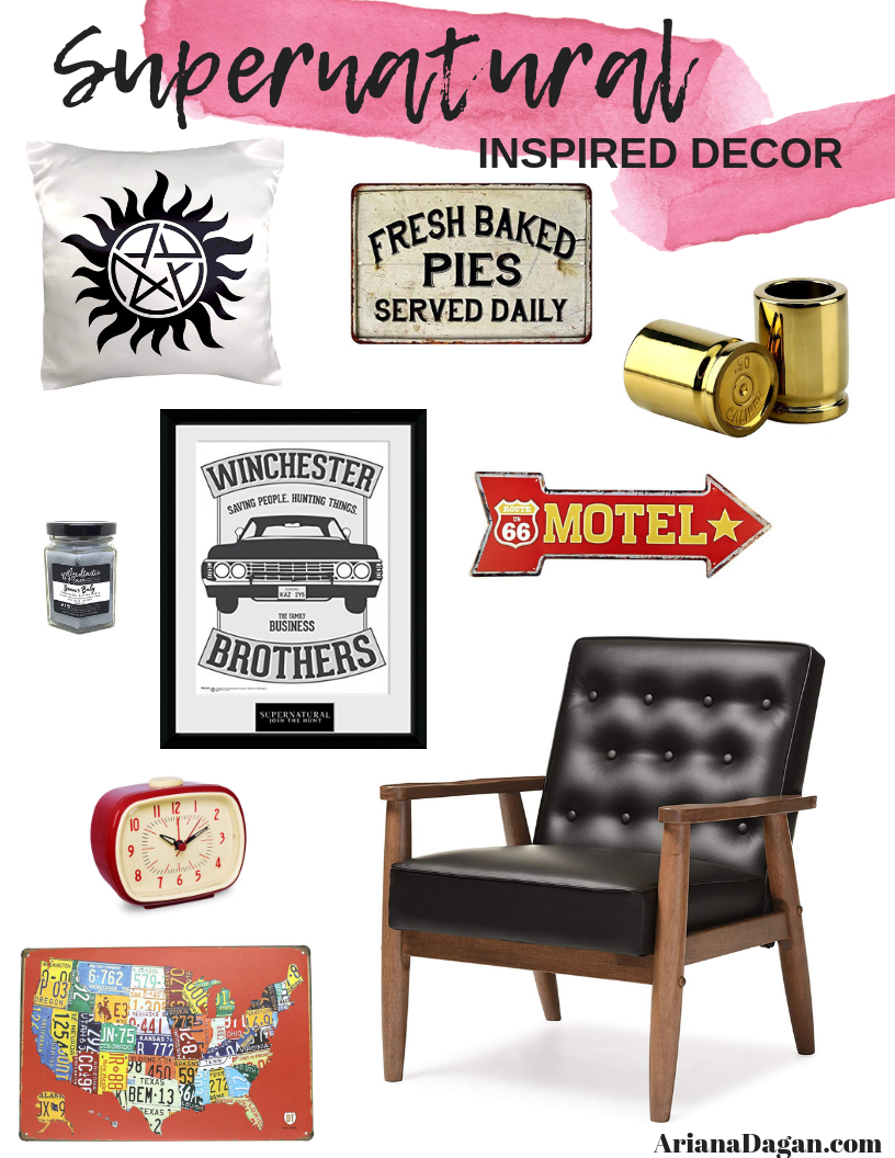Supernatural inspired home decor