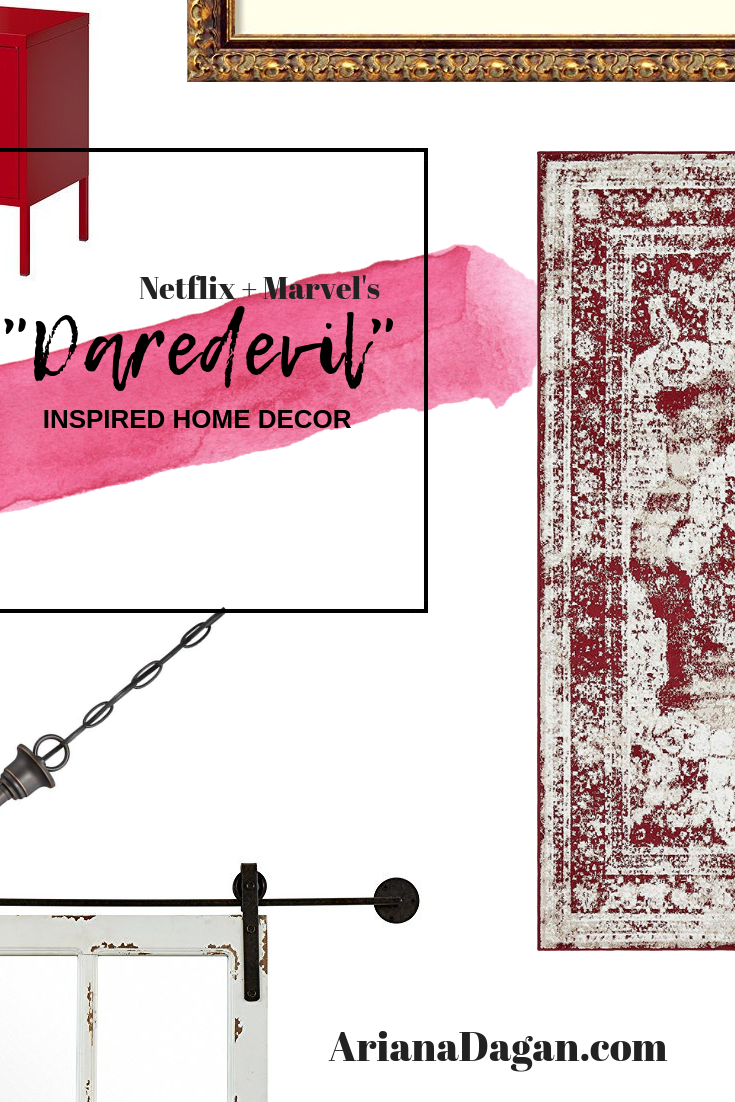 "COPY THIS HOME DECOR | ""Daredevil"" Inspired"