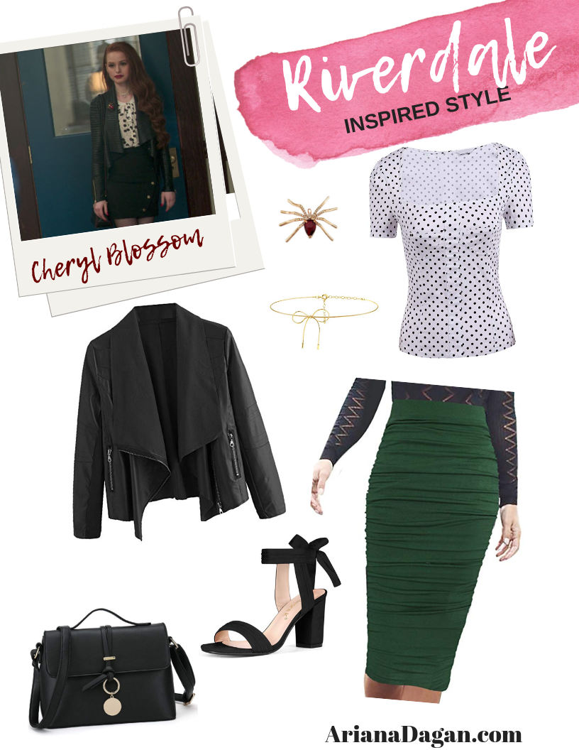 "COPY THIS LOOK | Cheryl Blossom from ""Riverdale"" Inspired Fashion"