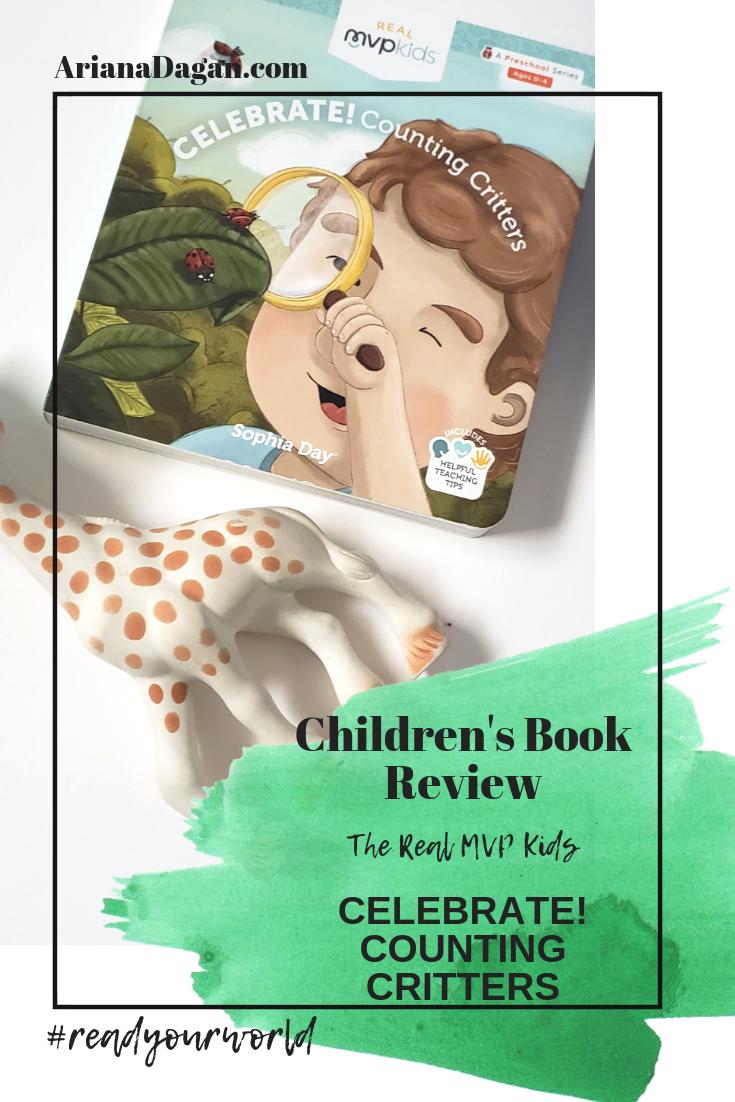 CELEBRATE! COUNTING CRITTERS childrens book review by ariana dagan