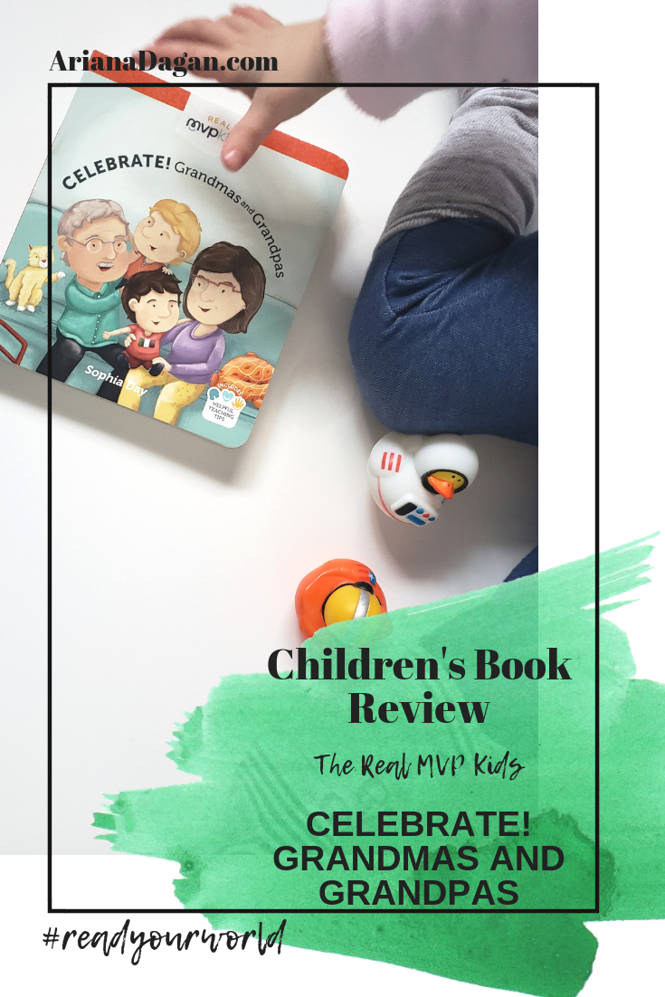 CELEBRATE! GRANDMAS AND GRANDPAS childrens book review by ariana dagan