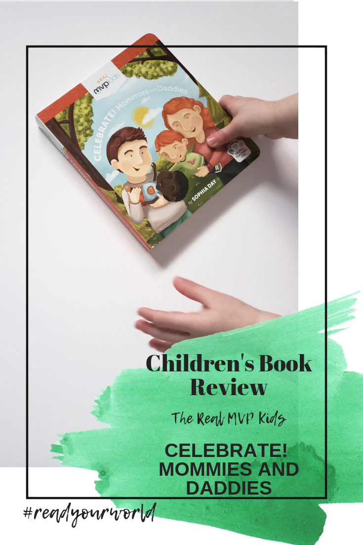 CELEBRATE!  MOMMIES AND DADDIES children book review by ariana dagan