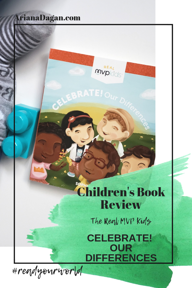 CELEBRATE!  OUR DIFFERENCES childrens book reviews by ariana dagan