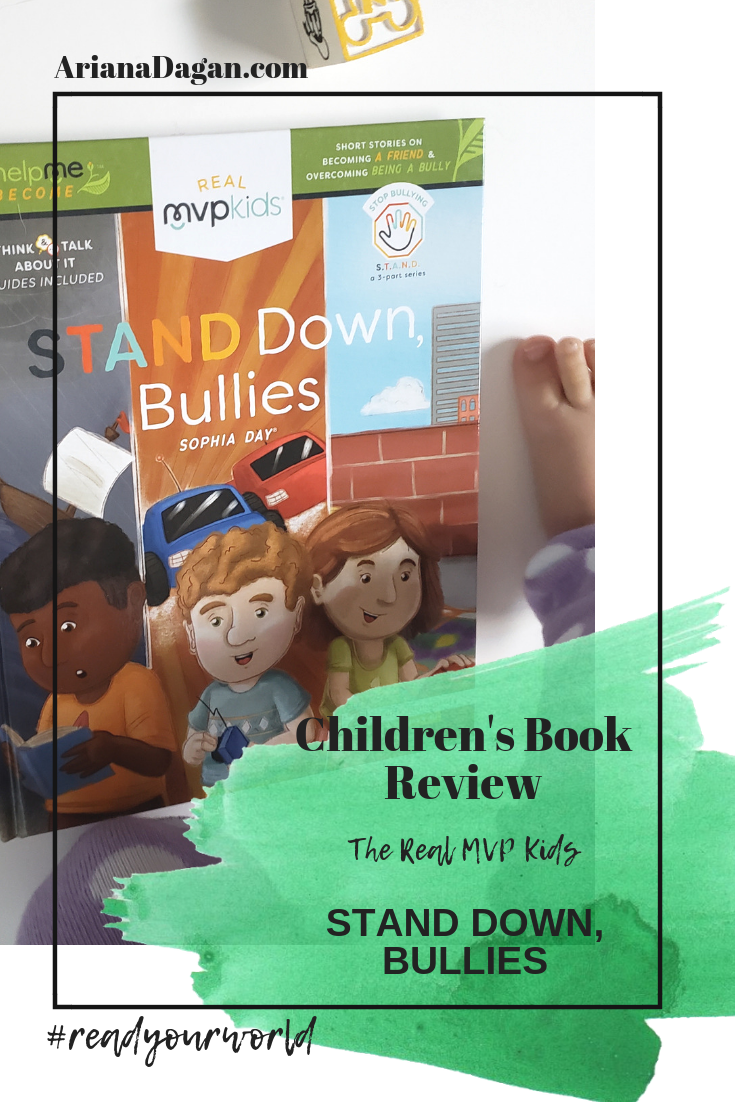 Stand Down, Bullies Children's Book Review by Ariana Dagan