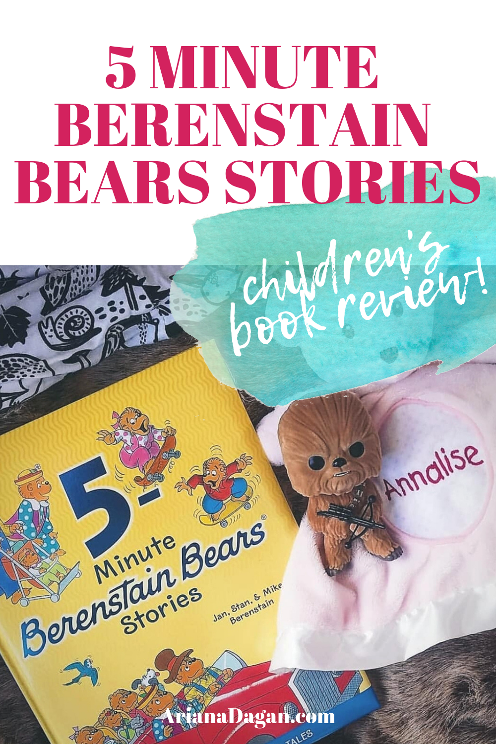 5 Minute Berenstain Bears Stories Children's Book Reviews by Ariana Dagan