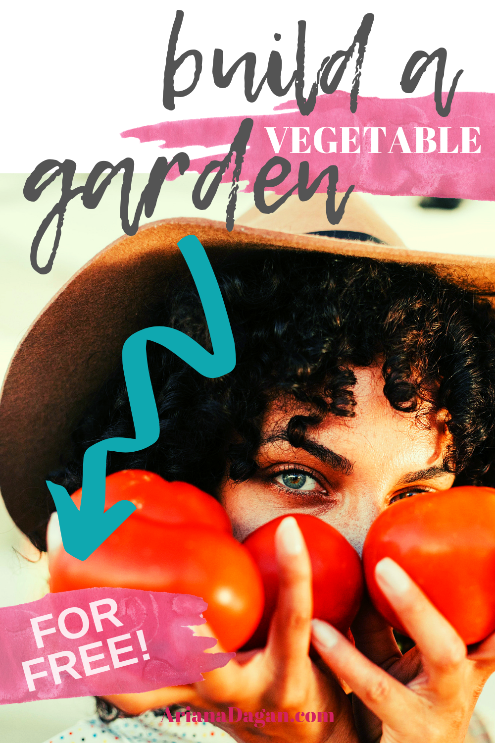 Build a Vegetable Garden for Free by Ariana Dagan