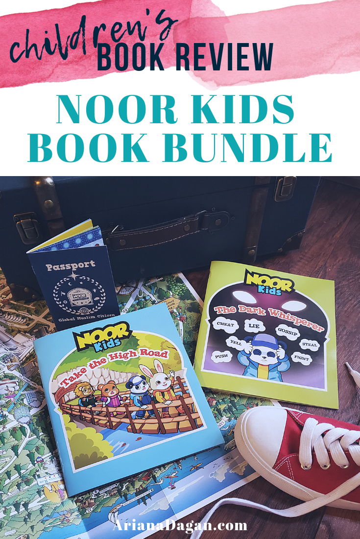 Noor Kids Book Bundle Review by Ariana Dagan
