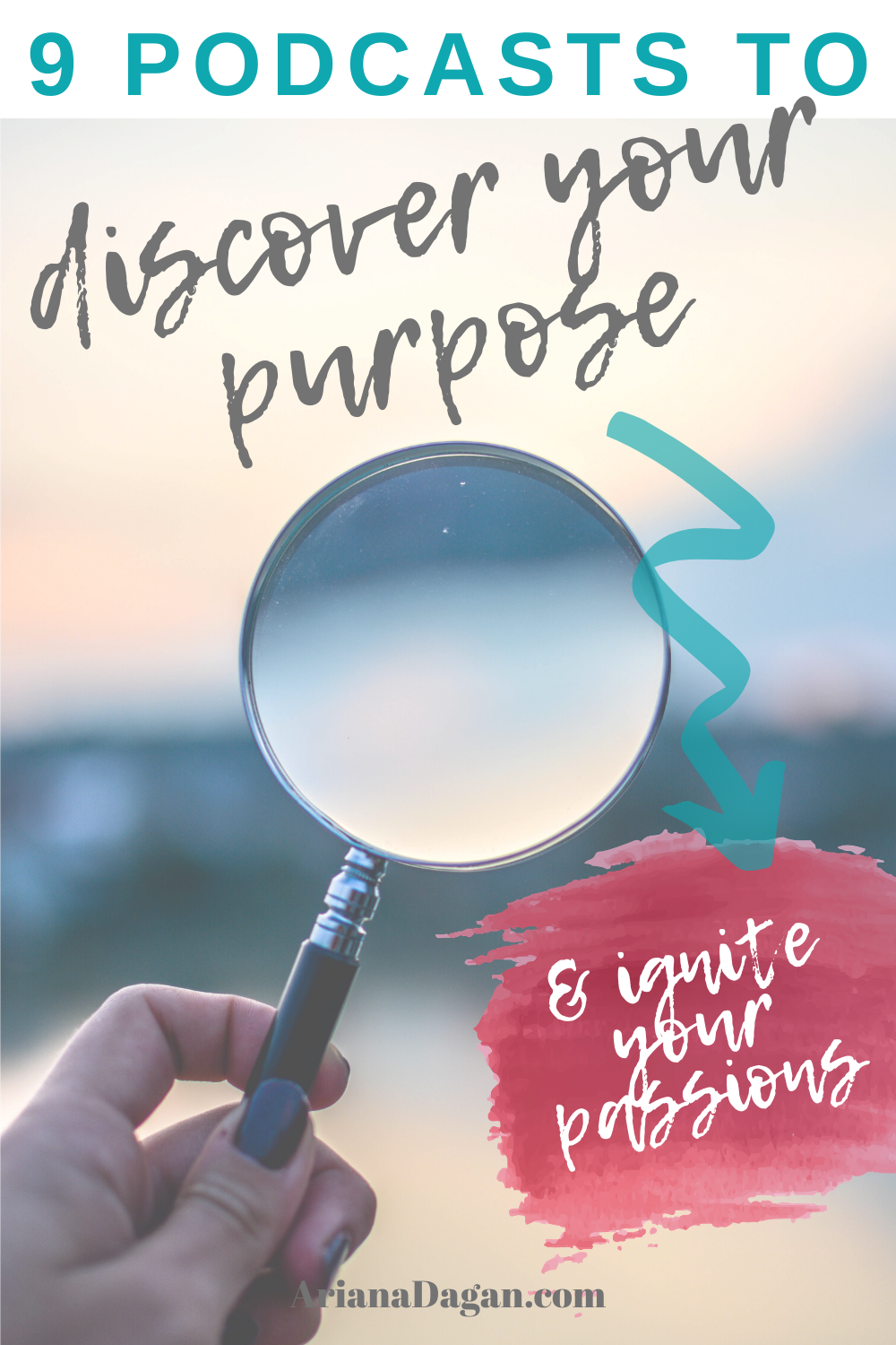 magnifying glass, discover your purpose
